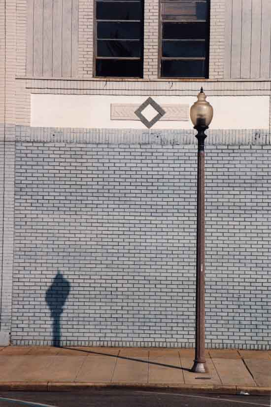 pole and shadow, fairfield, alabama