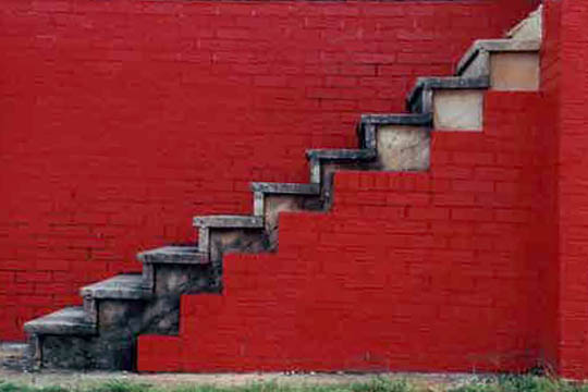 red stairs, midfield, alabama